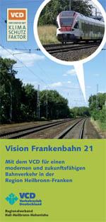 VCD-Frankenbahn-Flyer