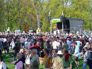 Protestdemo gegen Stuttgart 21