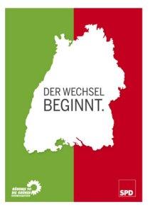 Grün-Rot Koalitionsvertrag