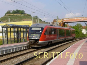 Westfrankenbahn bei Weinsberg