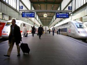 Stuttgart Hbf mit ICE und TGV