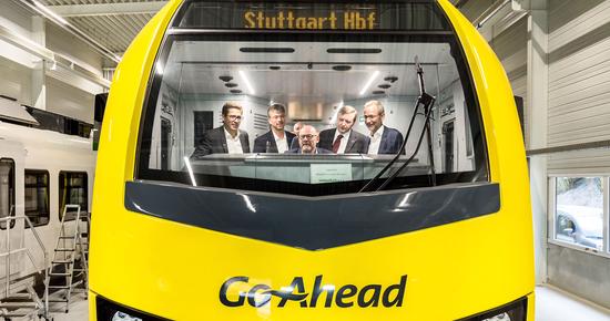 Roll-out des ersten FLIRT für Go-Ahead September 2018